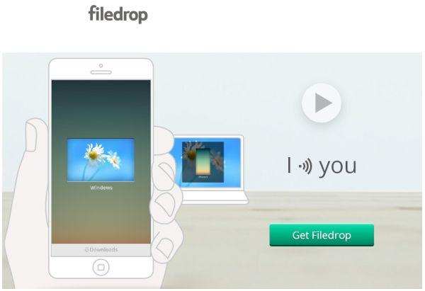 Filedrop llega a iOS para permitir enviar archivos a otros dispositivos usando WiFi