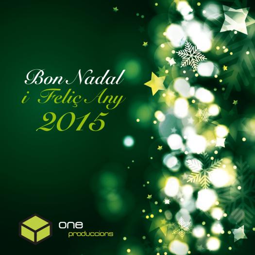 Bones Festes i Feliç Any 2015