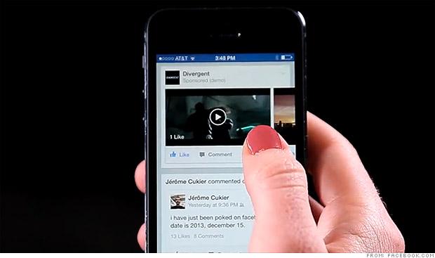 vídeos, Facebook, móviles